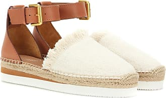 See By Chloé Canvas and leather espadrilles