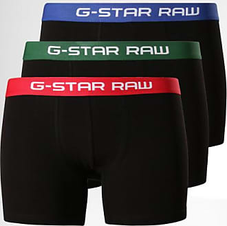 G-Star Lot De 3 Boxers Tach D13368-2058 Noir Rouge Vert Bleu 956371c66150