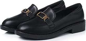 NOADream Women Platform Loafers Moccasins Oxford Leather Shoes Stylish Casual Comfort Slip On Dress Work Workout Driving Boat Ballet Flats for Ladies Black