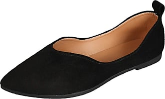 Yvelands Pointed Toe Flats Shoes Sandals Women Casual Solid Color Slip On Shallow Low Heel Work Loafer Shoes for Ladies Wide Single Flat Shoes Black