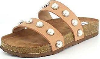 Steve Madden Womens Asset Slide Sandal, Natural, 5.5 M US