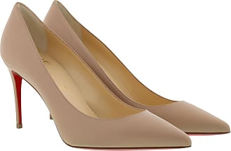 Christian Louboutin Pumps - Kate Pumps 85 Leather Nude - rose - Pumps for ladies