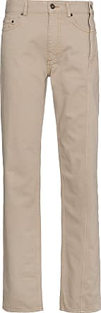 Y / Project Calça jeans com fechamento lateral - Neutro