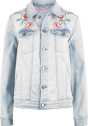 72cc3776cb2 Bonprix Bonprix - Veste en jean - designed by Maite Kelly bleu manches  longues pour femme