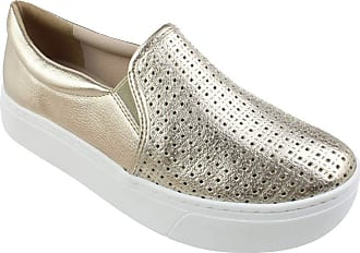 Via Marte Slip On Flatform Via Marte Dakar Dourado