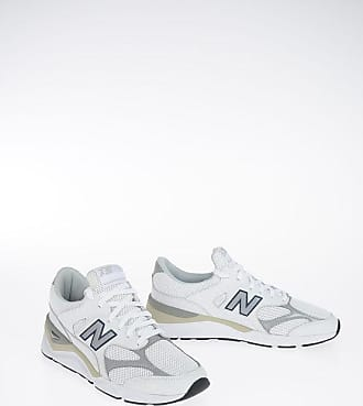New Balance Leather and Fabric Sneakers size 46,5
