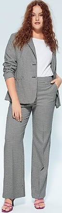 Violeta by Mango Gingham suit trousers