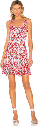 Karina Grimaldi Angelica Mini Dress in Pink