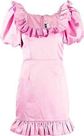 Rotate Vestido de festa Ghita com detalhe de babados - Rosa