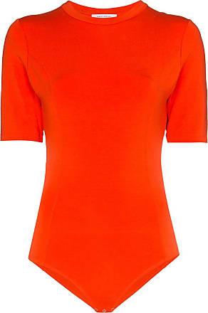 Ninety Percent Body con scollatura posteriore - Di colore arancione