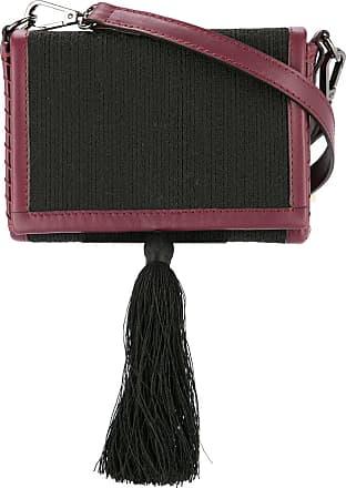 Zeus + Dione tassel crossbody bag - Black