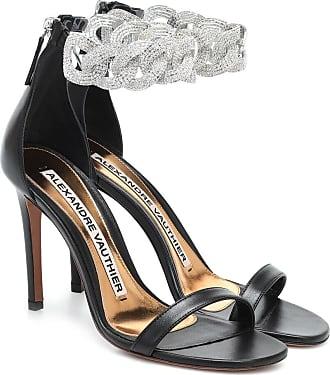 Alexandre Vauthier Elsa embellished leather sandals