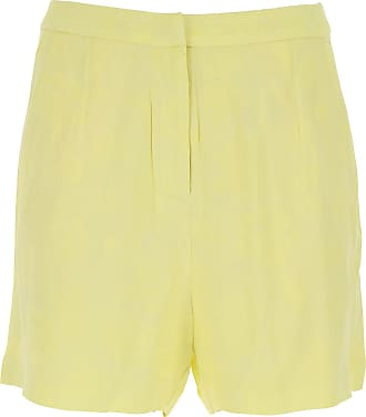 Guess Pantaloncini Shorts Donna On Sale, Giallo Chiaro, Viscose, 2019, 38 40 42 44