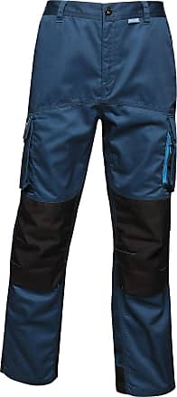 Regatta Mens Tactical Threads Heroic Worker Trousers (38in) (Blue Wing)