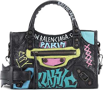 Balenciaga Borsa Classic City Graffiti in pelle 62529124868