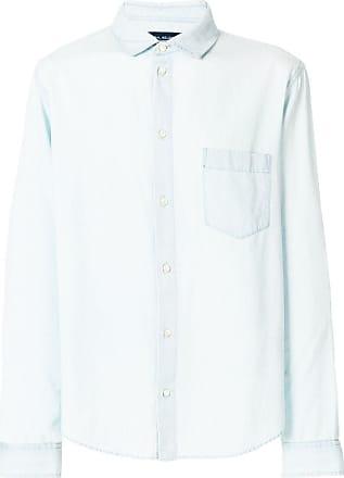 Natural Selection Camisa com bolso - Azul