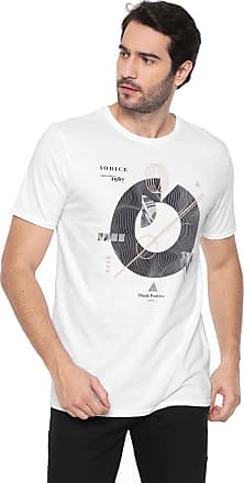 Iodice Camiseta Iódice Estampada Branca