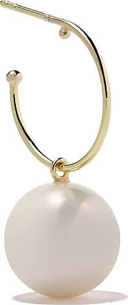 Wouters & Hendrix 18kt yellow gold Hoop Pearl earring