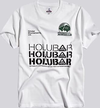 HOLUBAR t-shirt c-m-c jj23 bianco