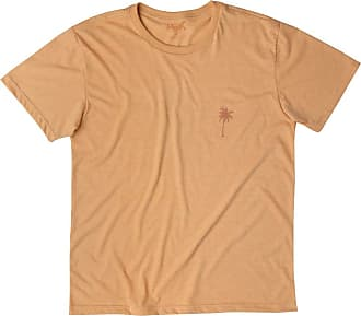 Mash Camiseta Malha Ecológica Coqueiros Laranja médio GG