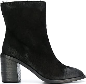 Marsèll Ankle boot de camurça - Preto