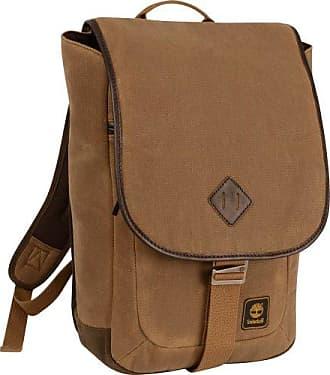 Timberland Messenger Backpack Briefcase Travel Bag, Brown/Tan