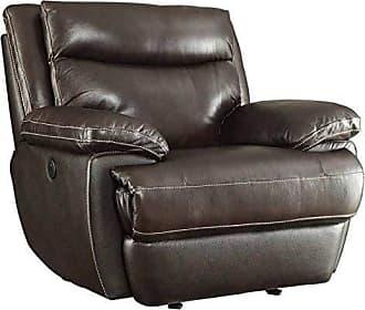 Coaster Fine Furniture Macpherson Upholstered Glider Recliner Espresso