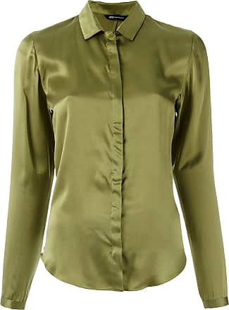 Uma Camisa de seda - Verde