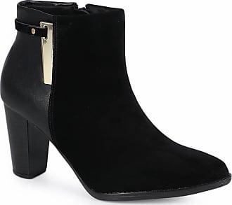 Beira Rio Ankle Boots Feminina Beira Rio Recorte
