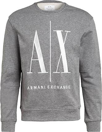 A|X Armani Exchange Sweatshirt - GRAU MELIERT