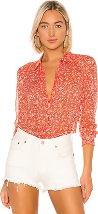 Equipment Essential Blouse in Orange