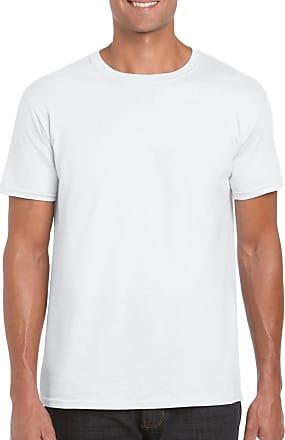 Fruit Of The Loom White Gildan Softstyle Mens Cotton Plain Blank T Shirt S M L XL XXL 3XL *
