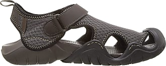 Crocs Mens Swiftwater Sandal, Brown (Espresso/Espresso), 7 UK 41/42 EU