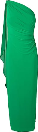 Lauren Ralph Lauren one shoulder evening dress - Green