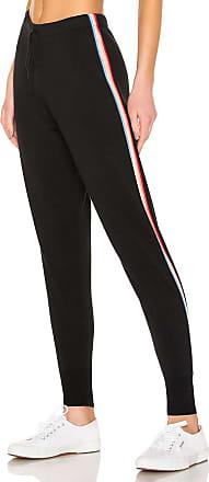 Spiritual Gangster x Madeleine Thompson Stripe Jogger in Black
