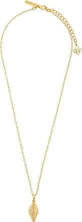 Oscar De La Renta Shell pendant necklace - Gold