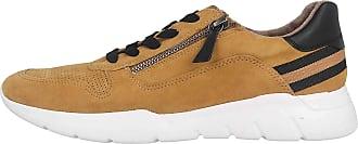 Jana Womens 8-8-23728-25 Sneaker, Saffron Comb, 4 UK