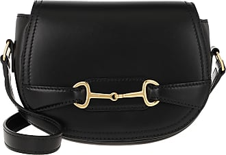 Celine Crécy Bag Small Leather Black Umhängetasche schwarz
