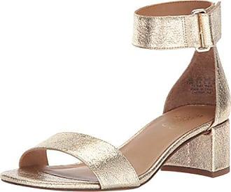 Franco Sarto Womens Rosalina Heeled Sandal, Platino, 6 M US