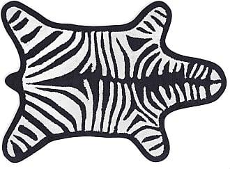 Jonathan Adler Zebra Bath Mat - Black