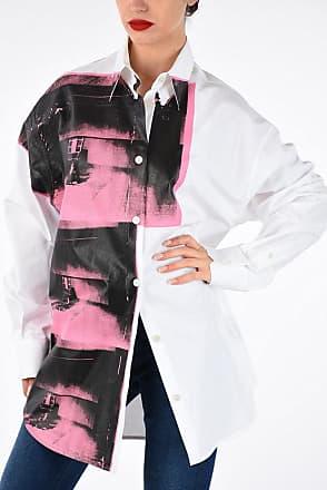 Calvin Klein 205W39NYC ANDY WARHOL Printed Blouse size Xs