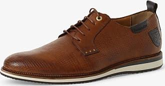 Pantofola D'oro Herren Schnürschuhe aus Leder beige
