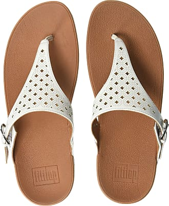 05cc41280 FitFlop Womens Skinny Toe Post-Latticed Flip-Flop