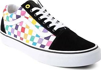 75aacfdd45 Vans Vans Old Skool Regenbogen Checkerboard Checker Bunt Skate Schuhe Damen