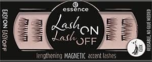 Essence Augen Wimpern Lash On Lash Off Lengthening Magnetic Accent Lashes Nr. 02 Going Gaga Over Lengths! 4 Stk