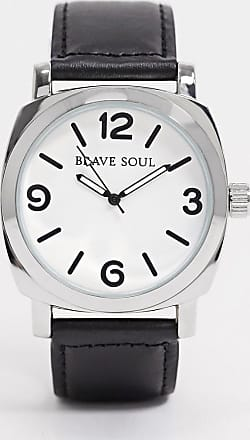 Brave Soul black watch with white dial
