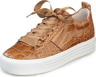 Kennel & Schmenger Sneakers Up van kalfsnappaleer Van Kennel & Schmenger bruin
