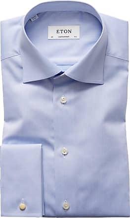 Eton Businesshemd mit Umschlagmanschette, Contemporary Fit von Eton in Blau für Herren