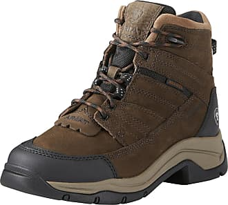 Ariat Womens Terrain Pro Waterproof Insulated Boot in Java Leather, B Medium Width, Size 4.5, by Ariat