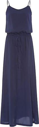 Market 33 Vestido Longo Blusê Market 33 - Azul